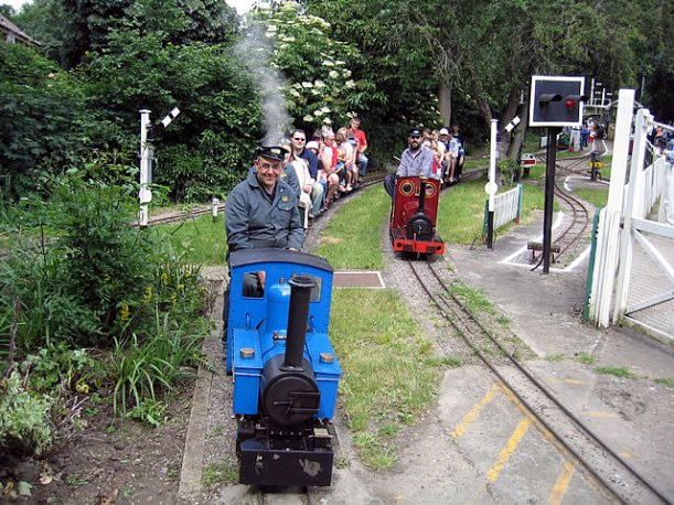 Thames Ditton Miniture railway2